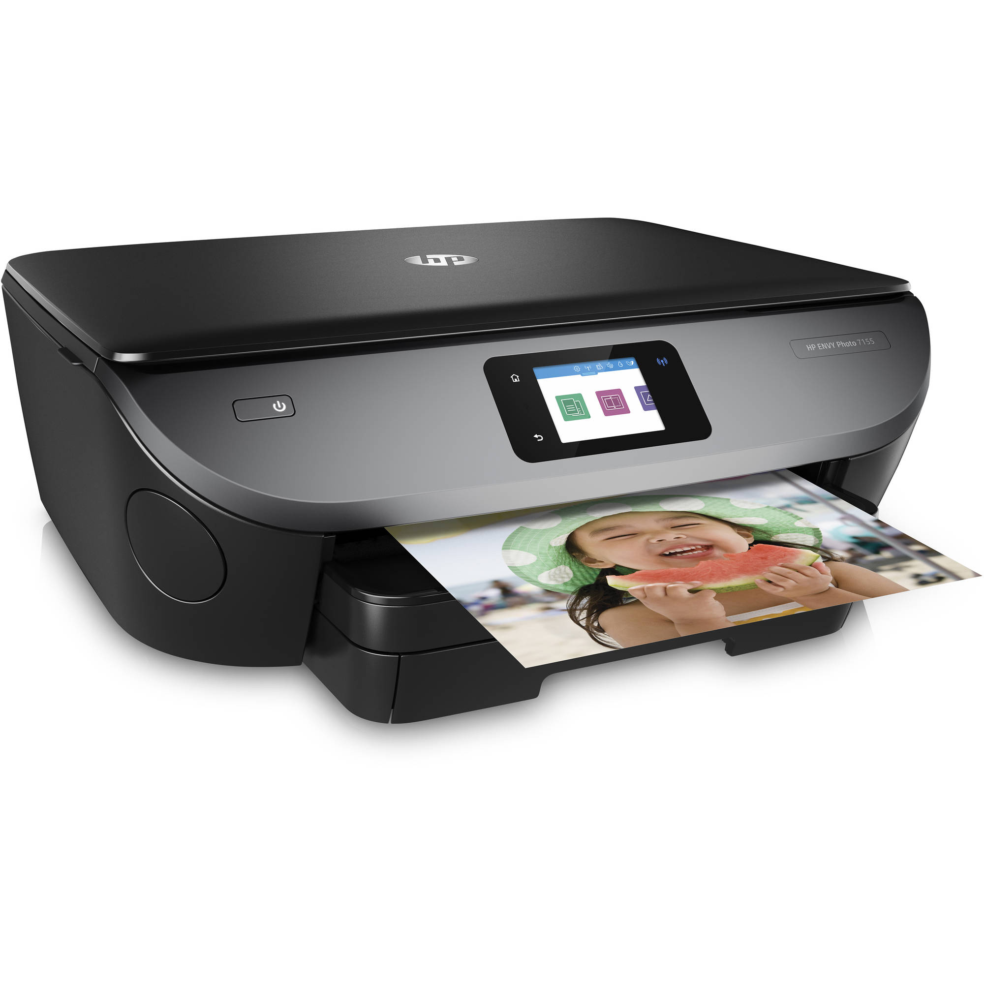 graphic relating to Inkjet Printable Vinyl Walmart named HP ENVY Picture 7155 All-inside of-Just one Inkjet Printer