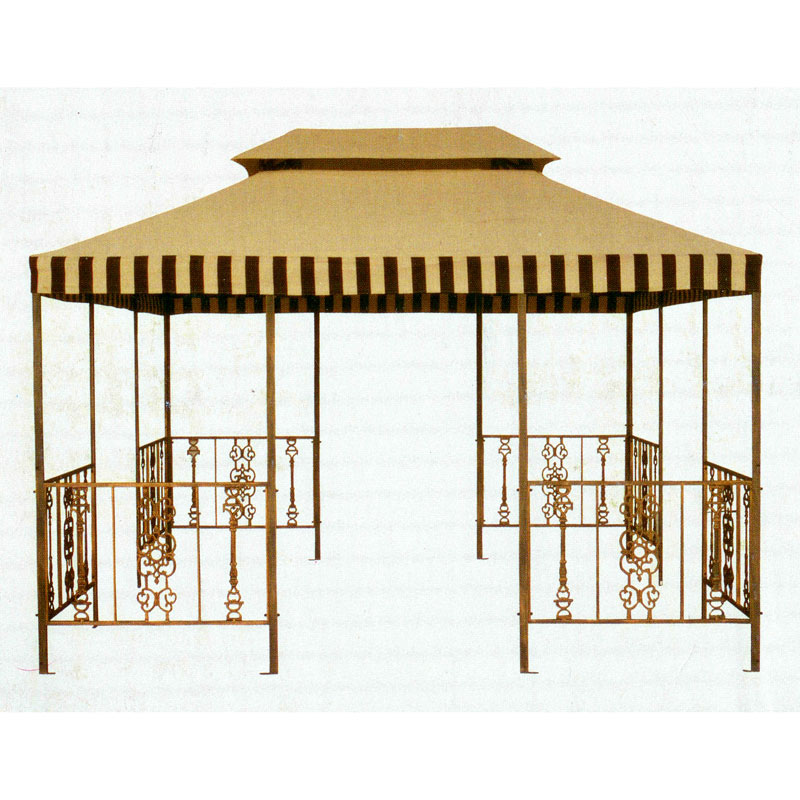 Garden Winds Replacement Canopy Top for PH Victorian Gazebo - SOLID BEIGE