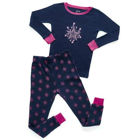 Leveret Stars 2 Piece Pajama Set 100% Cotton 18-24 Months 2 Piece Stars Pajama Set
