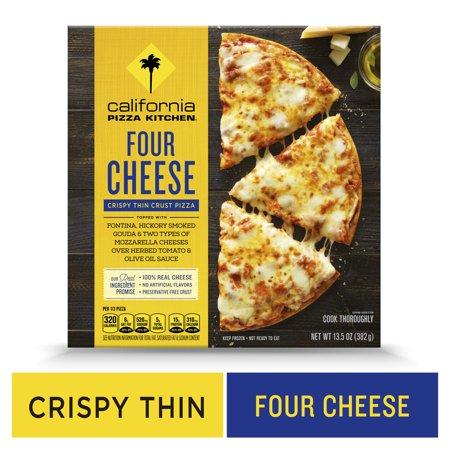 California Pizza Kitchen Crispy Thin Crust Four Cheese Frozen Pizza - 13.5oz