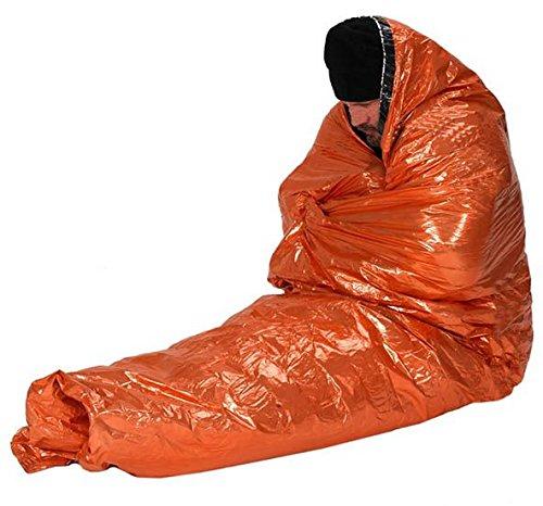 NduR 61425 Emergency Survival Bag, Orange and Silver Multi-Colored