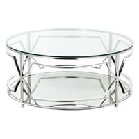 Pangea Home Edward Round Coffee Table