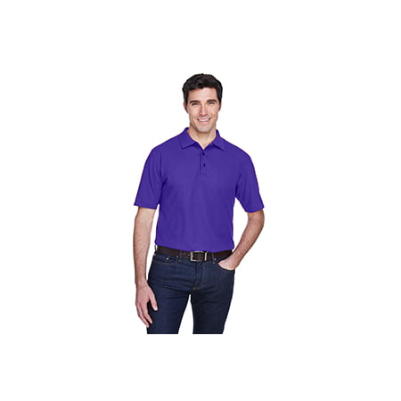 8540 Uc Men Whisper Pique Polo Purple 6Xl - image 1 de 1