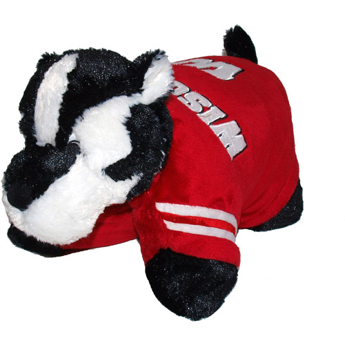 Wisconsin Badgers Pillow Pet Blanket