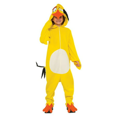 Angry Birds Movie: Chuck Child Costume - 2-7 Angry Birds Halloween