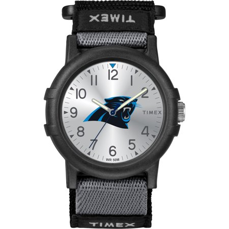 Timex - NFL Tribute Collection Recruite Youth Watch, Carolina Panthers (Panthers Sports Watch)