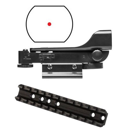 Ultimate Arms Gear Marlin Rifle Base Top Dual Weaver Picatinny Predrilled Receiver Mount Adapter Rail  Aluminum   Polymer Reticle Red Dot Open Tubeless Reflex Scope Sight