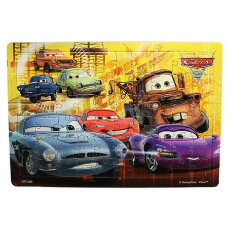 Disney Pixar\'s Cars 2 Mater Finn and Lightning McQueen Framed Kids ...