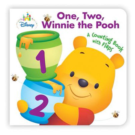 Disney Baby One, Two, Winnie the Pooh (Board Book)