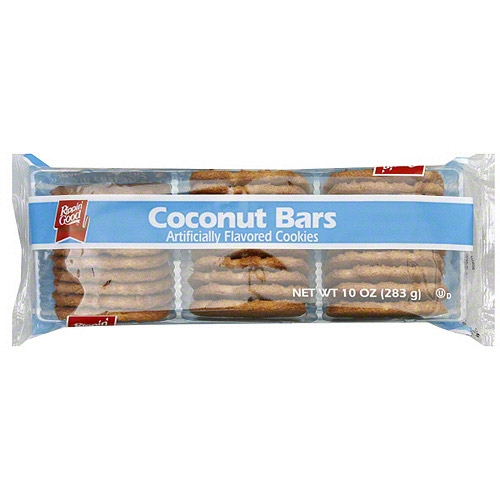 Rippin' Good Coconut Bar Cookies, 10 oz (Pack of 12)