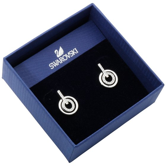 e6548bc38 Swarovski - Circle Mini Pierced Earrings - 5007750 - Walmart.com
