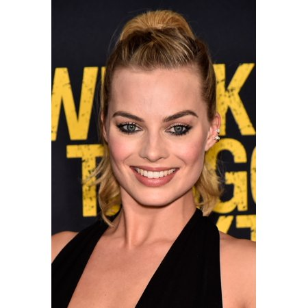Margot Robbie At Arrivals For Whiskey Tango Foxtrot Premiere Rolled Canvas Art -  (8 x 10)