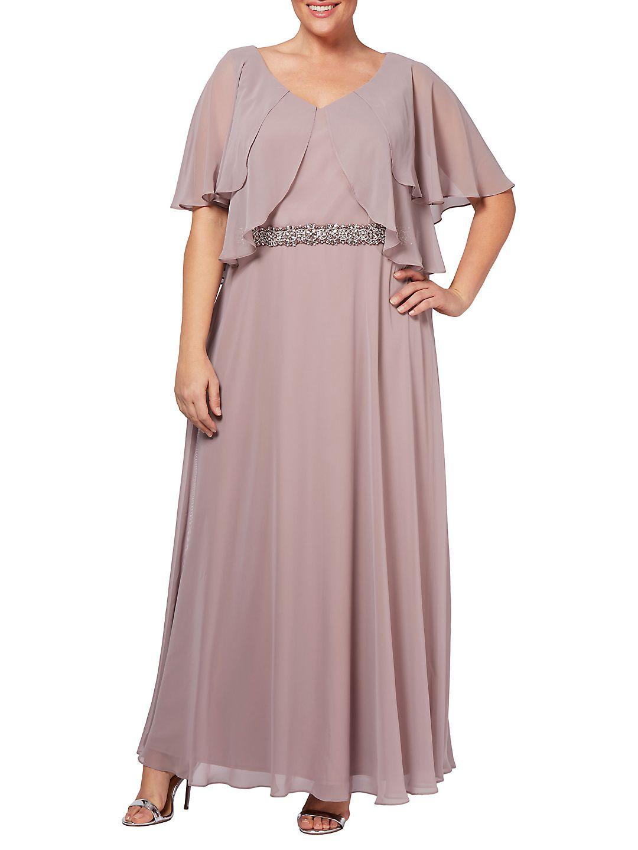 Plus A-Line Gown