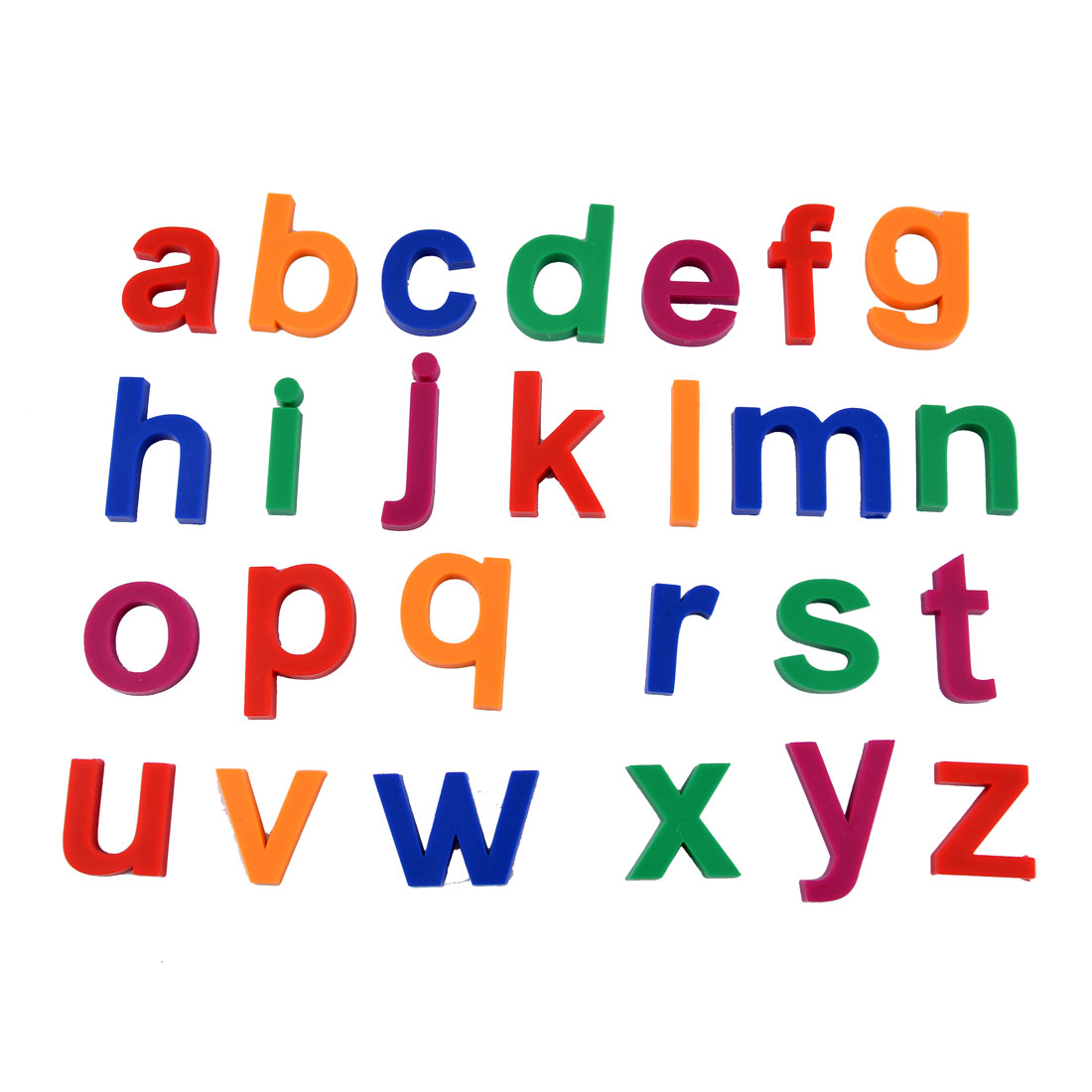 Unique bargains 26 in 1 alphabet letters design fridge refrigerator magnets walmart com