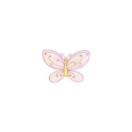 Little Boutique Bling Wire Wall Art - Butterfly