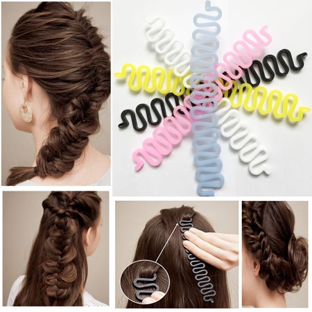 Outtop Hair Braiding Tool Roller With Hook Magic Hair Twist Styling Bun