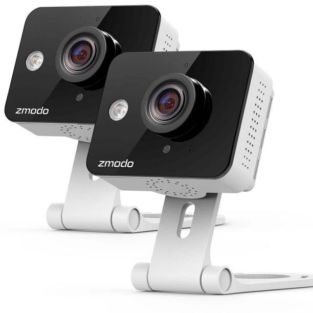 720P HD WiFi Wireless Smart Security Camera 2-Way Audio 2 Pack MeShare Zmodo