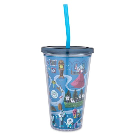 Disney Parks The Haunted Mansion Tumbler with Straw New - Disney Tumbler