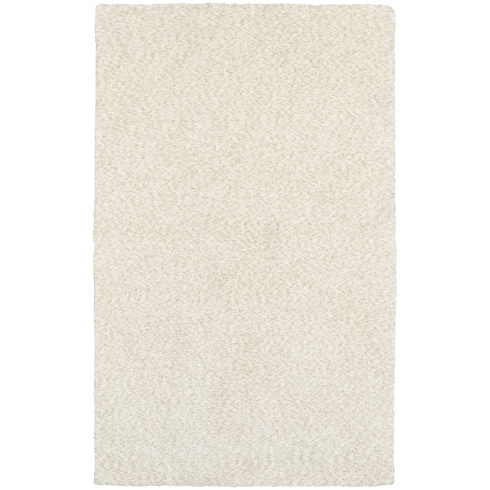 N Moretti Outback Area Rugs  73402 Contemporary Ivory Neutral Monochrome  Handcrafted SingleColor Rug Walmartcom