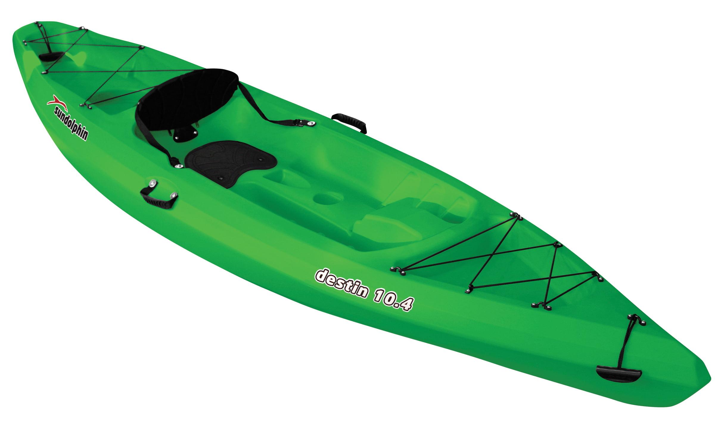 Destin 10.4 Sit-On Recreational Kayak by KL Outdoor