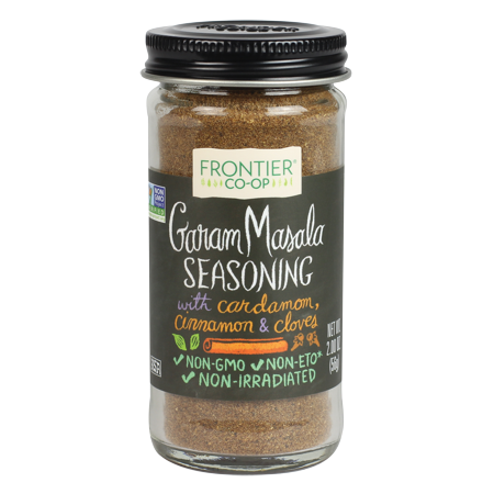 Frontier Co-op Garam Masala Seasoning Blend 2 oz. bottle