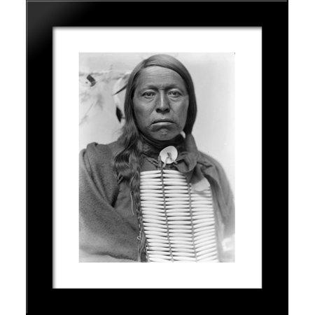 Chief Flying Hawk 20x24 Framed Art Print by Gertrude Kasebier