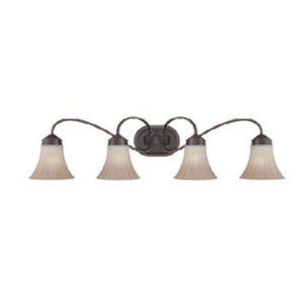 Quoizel Aliza 4-Light Bath Light in Palladian Bronze Finish by Quoizel Inc