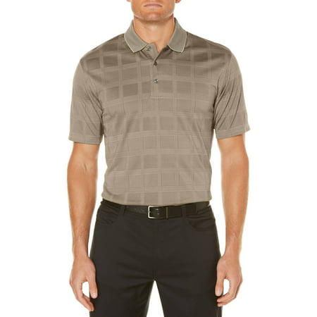 Ben Hogan Men's performance short sleeve textured polo shirt ()