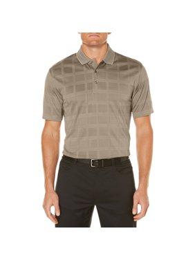 Ben Hogan Men's performance short sleeve textured polo shirt