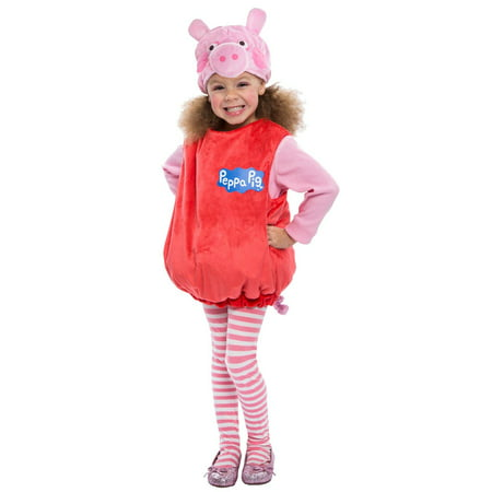 Peppa Pig Toddler Halloween Costume, 3T-4T (Pig Nose Costume)