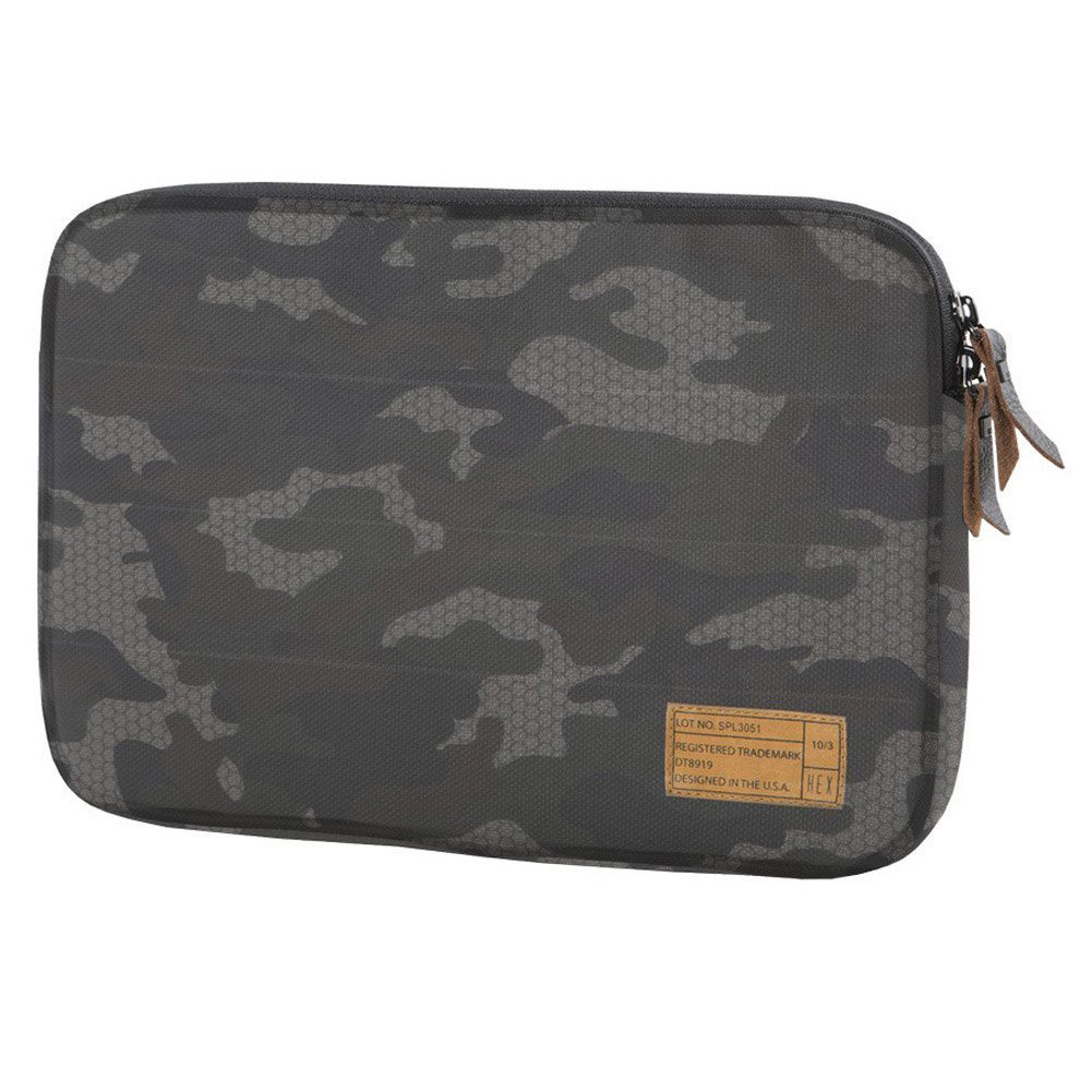 HEX Sleeve with Rear Pocket for Microsoft Surface 3, Black/Gray Camo