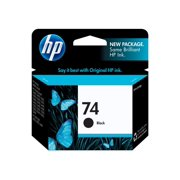 HP 74 Black Original Ink Cartridge (CB335WN)