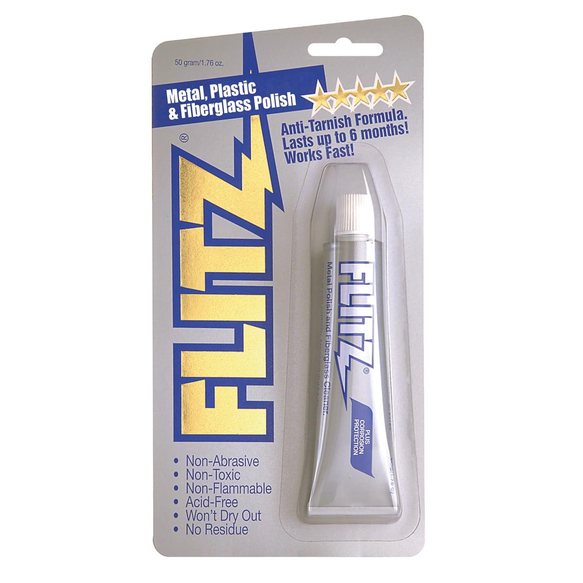 Flitz Metal Plastic-Fiberglass Polish 1.76oz Tube