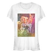 Tangled Juniors' Long Story T-Shirt