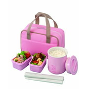 Tiger Classic Lunch Box, 25.3 oz, Pink