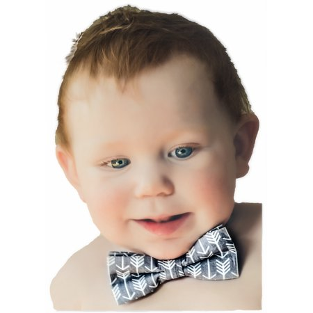 Birthday Baby Boy Bow Tie Cake Smash Gray White Arrow Party Outfit Photo Shoot 1st 2nd 3rd 4th 5th B-Day](Bow Tie Cake)