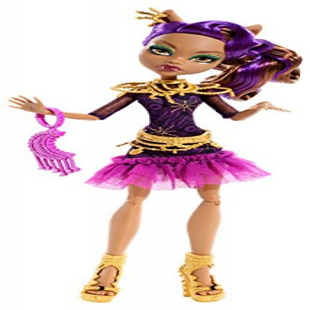 Monster High Frights Camera Action Clawdeen Wolf Nude Doll