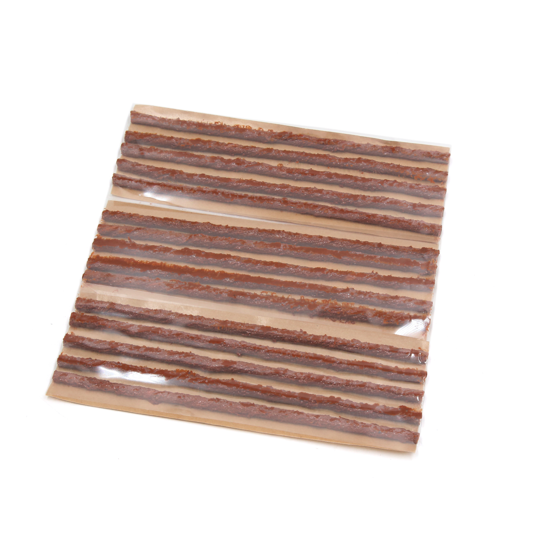 15pcs Brown Tubeless Tyre Tire Repairing Seals Rubber Strip for Car Motorcycle