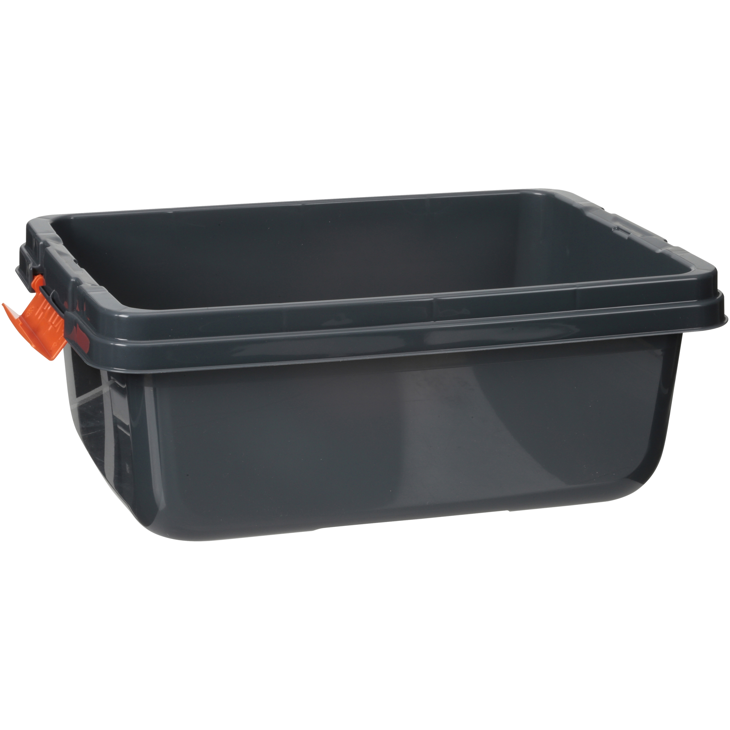 Hefty HI RISE Heavy Duty Storage Bins 18 Qt Latch Storage Box