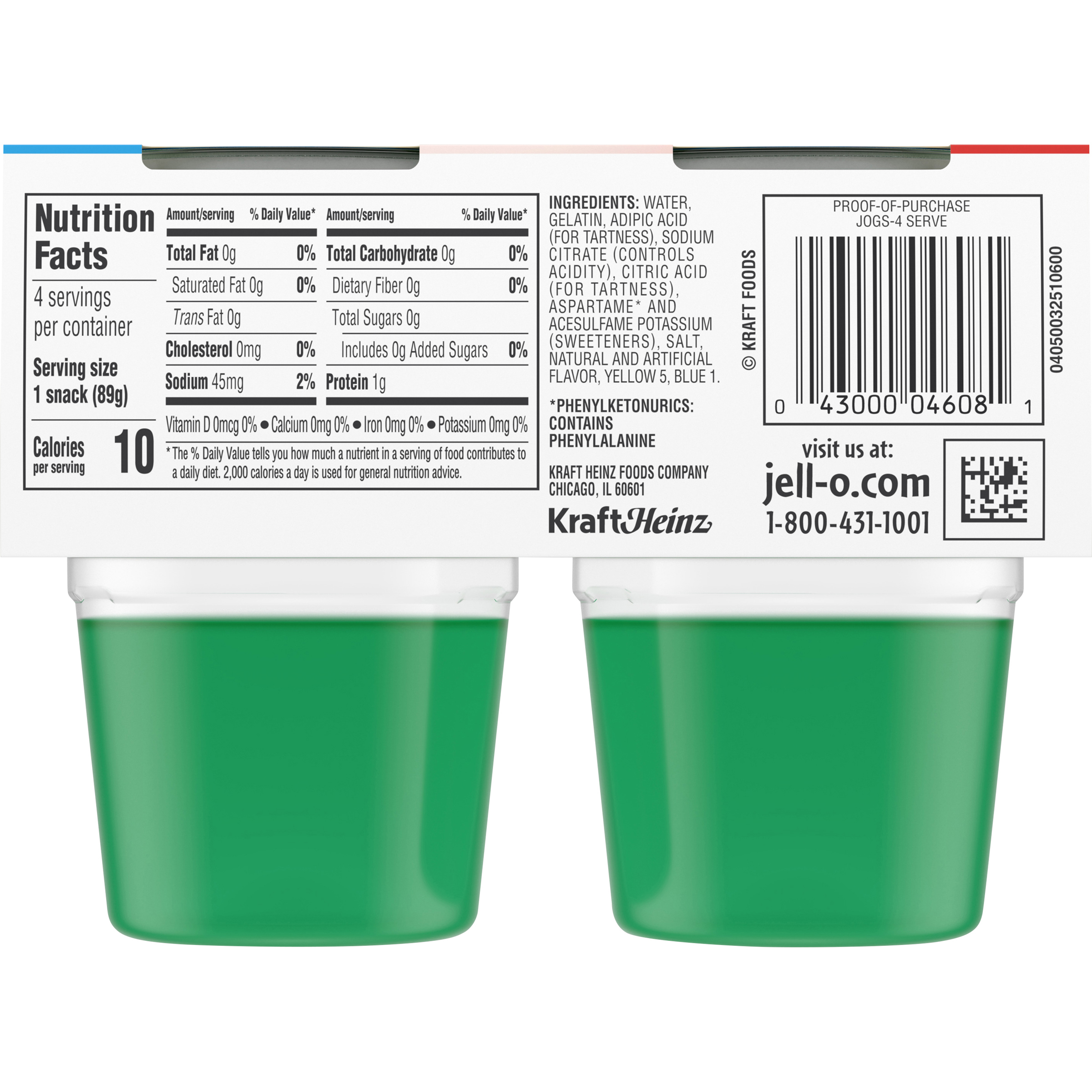 35 Sugar Free Jello Nutrition Label Labels Database 2020