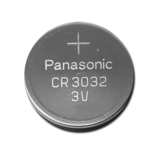 Panasonic Coin Cell Battery CR3032 3V Lithium Replaces DL3032 BR3032