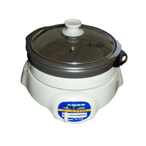 Sunpentown Shabu Shabu and BBQ Roaster with Lid