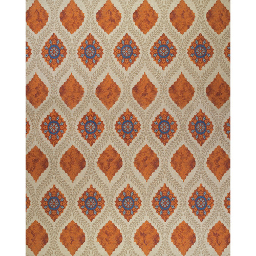 Bungalow Rose Thistle Tan/Rust Area Rug