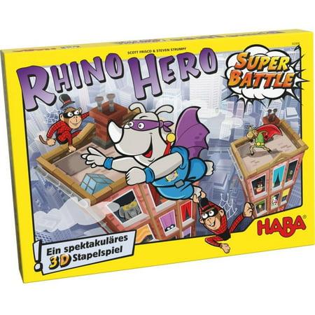 Rhino Hero Super Battle Game - Family Game by Haba (303383)](Baby Hero Games)