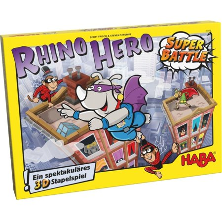 Rhino Hero Super Battle Game - Family Game by Haba (303383)