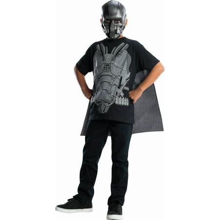 Man Of Steel Zod Costume (Superman Man Of Steel General Zod Costume Top & Cape)