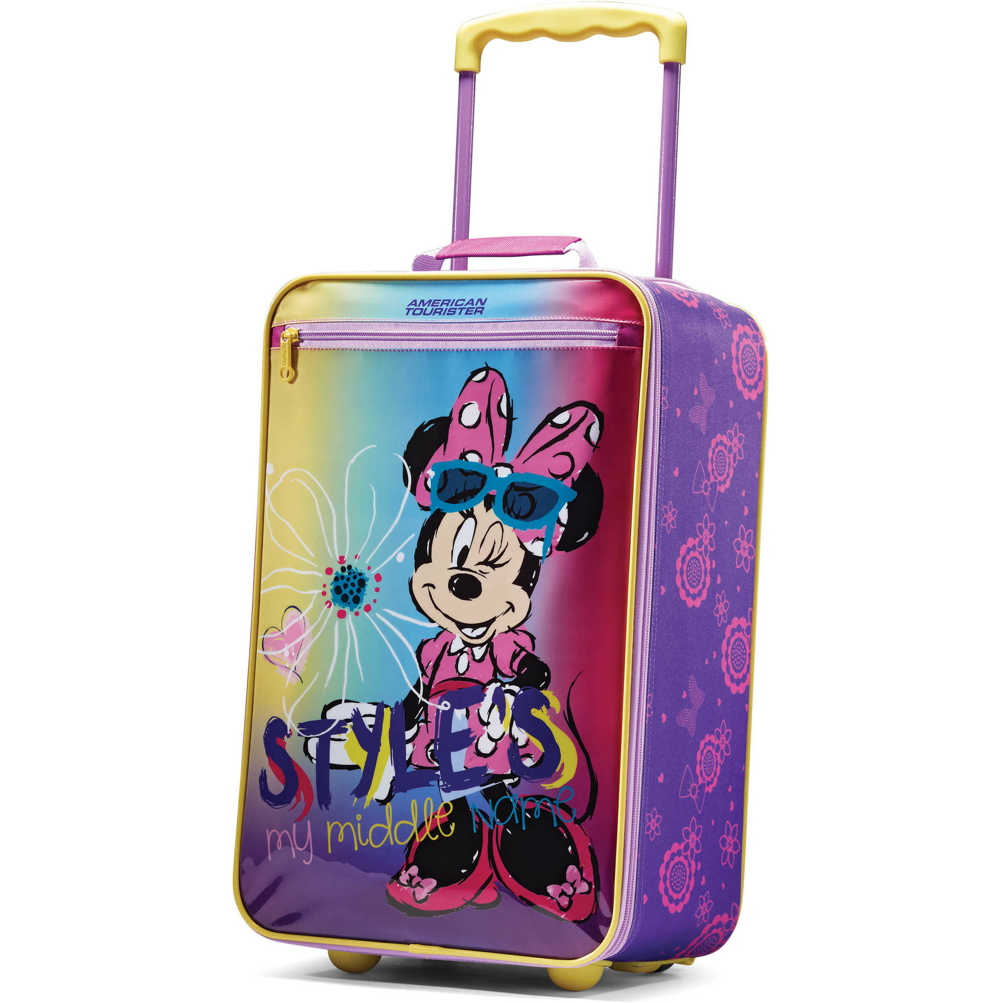 "American Tourister 18"" Disney Minnie Softside Upright Suitcase"