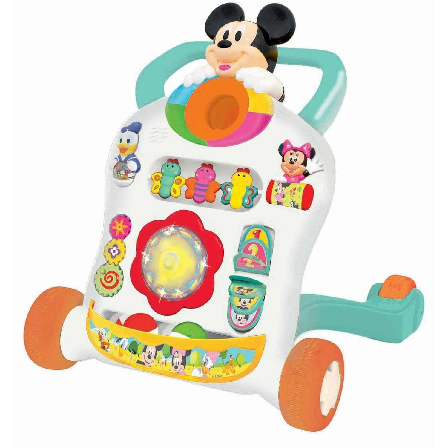 Kiddieland Disney Mickey Mouse and Friends Roll n' Go Walker by Disney