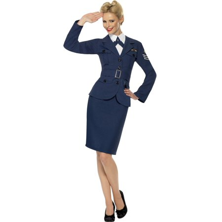 Adult World War 2 Air Force Female Captain - Air Force Costume