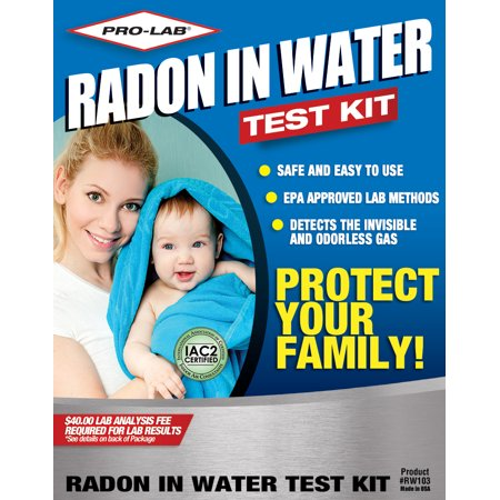 PRO-LAB Radon in Water Test Kit